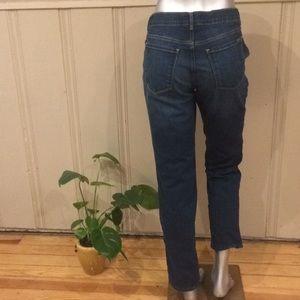Eddie Bauer Fleece Lined Curvy Straight Jeans